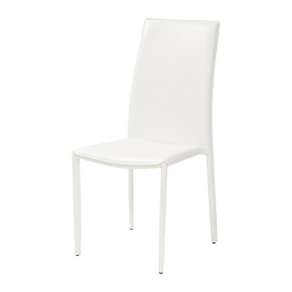 Jídelní židle Dedis, bílá