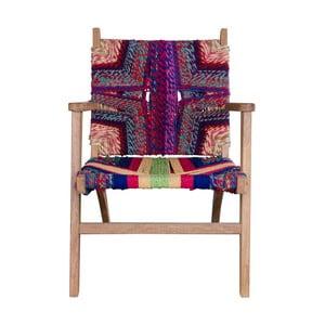 Skládací židle z mangového dřeva House Nordic Sagar