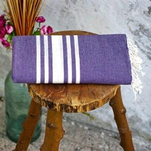 Hamam osuška Sea Purple, 100x180 cm