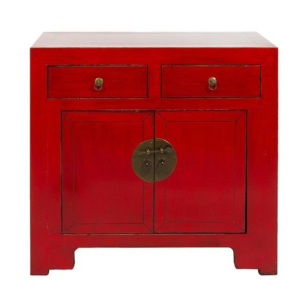 Comodă mică Santiago Pons Orient, roșu