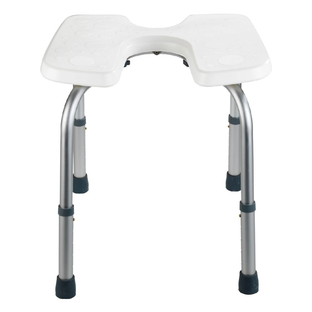 Stolička do sprchy Wenko Hygienic Stool White 53 x 46 cm