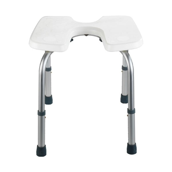 Stolička do sprchy Wenko Hygienic Stool White, 53 x 46 cm