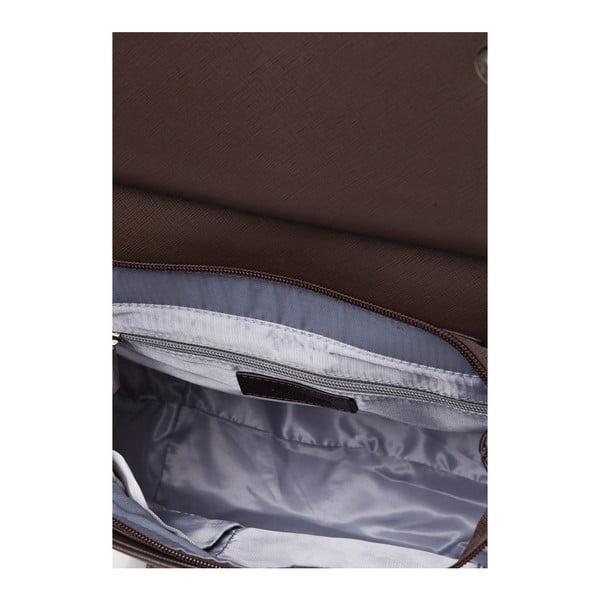 Kožený batoh Marta Ponti Aipee, světle hnědá/tmavě hnědá