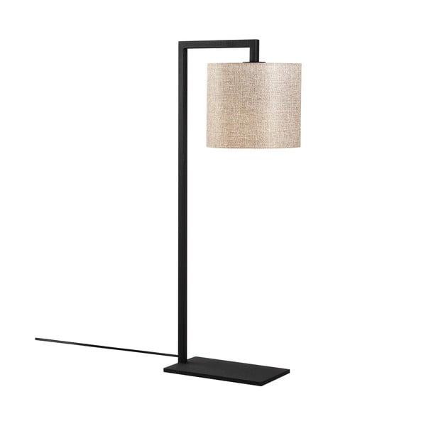 Profil fekete-bézs asztali lámpa - Opviq lights