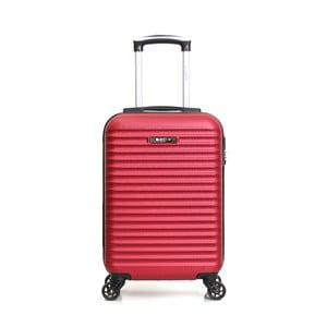 Červený příruční kufr na kolečkách BluestarAtlanta, 32l
