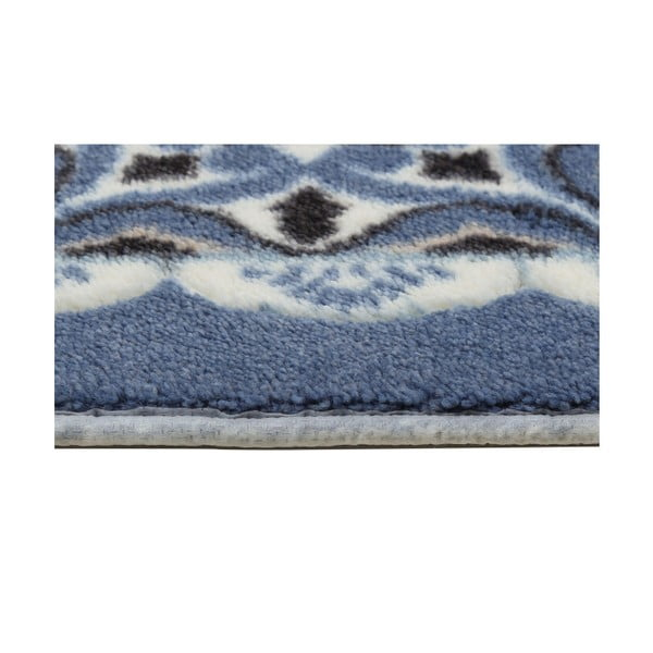 Sada 2 modrých předložek do koupelny Confetti Bathmats Ceramic