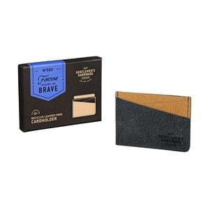 Pouzdro na karty z recyklované kůže Gentlemen's Hardware Card
