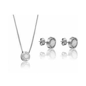 Set náhrdelníku a náušnic z nerezové oceli Victoria Walls Lia