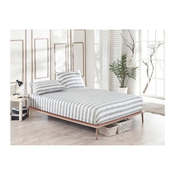Clementino Rentano elasztikus lepedő és 2 párnahuzat szett egyszemélyes ágyhoz, 160 x 200 cm