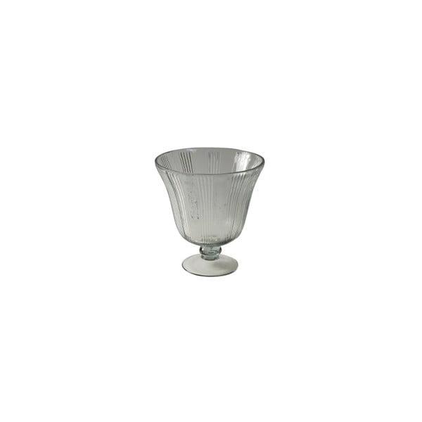 Skleněná váza Antic Line Glass, výška 24cm