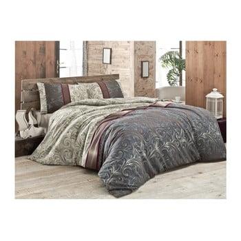 Lenjerie de pat cu cearșaf Hurrem, 160 x 220 cm