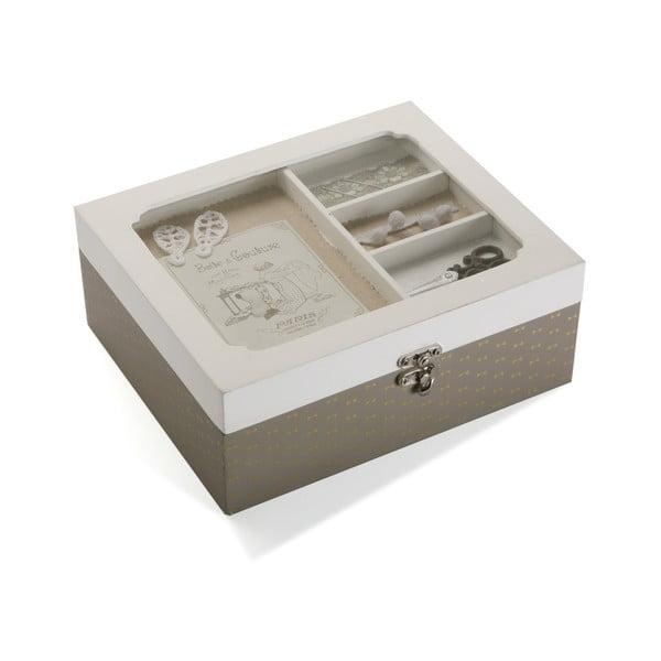 Dřevěný box na šicí potřeby Versa Femme