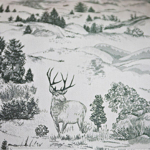 Polštář s výplní Green Forest, 50x50 cm