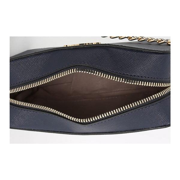 Tmavě modrá kabelka z eko kůže Beverly Hills Polo Club Tina
