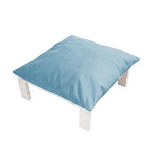 Podnožka s polštářovým sedákem Tanzania Light Blue