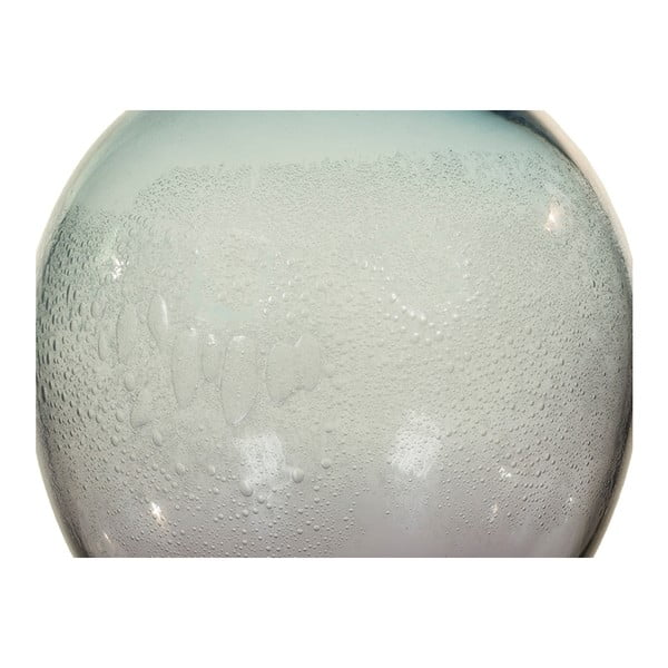 Modrá křišťálová dekorativní váza Santiago Pons Ryde, Ø22cm