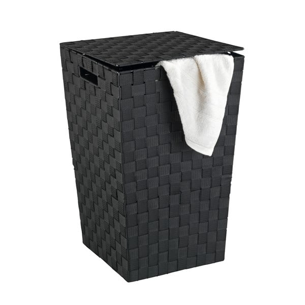 Černý koš na prádlo Wenko Adria