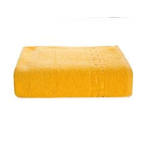 Žlutý bavlněný ručník Kate Louise Pauline,50x90cm