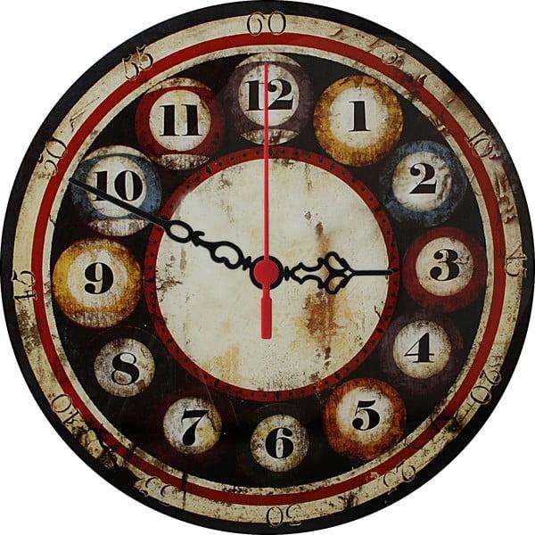 Nástěnné hodiny Billiards, 30 cm