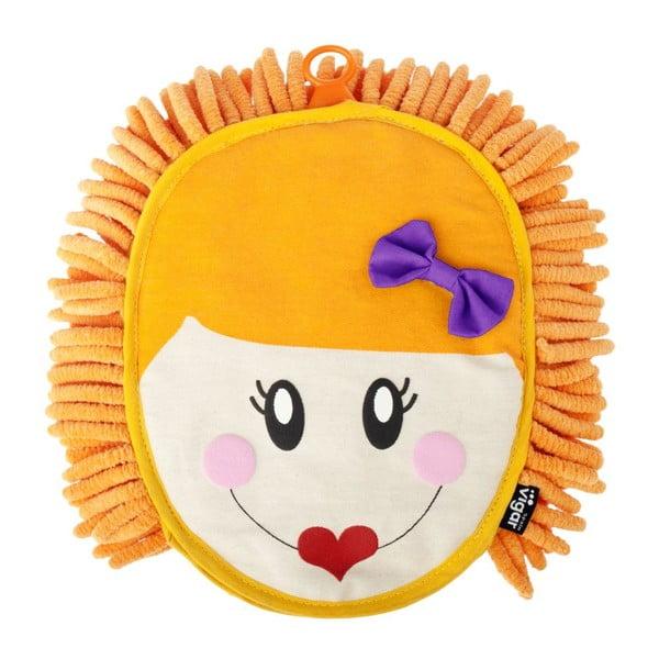 Prachovka Dolls, oranžová