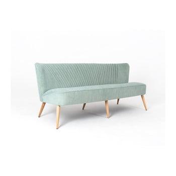 Canapea cu 3 locuri Custom Form Harry, verde deschis de la Custom Form