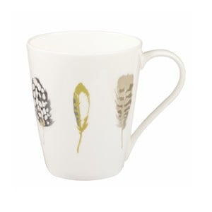 Hrneček z kostního porcelánu Churhill China Linen, 390 ml