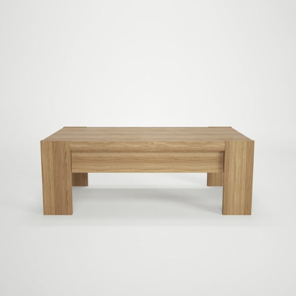 Dřevěný konferenční stolek Artemob Campton