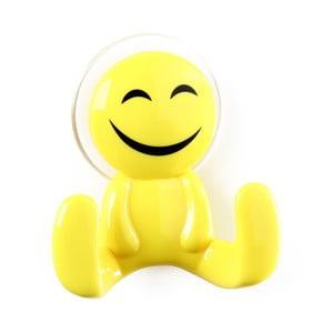 Žlutý háček ve tvaru panáčka Unimasa Happy