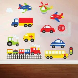 Samolepka na zeď Color Travel, 70x50 cm