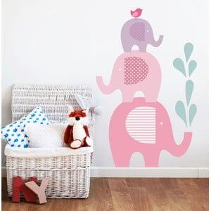 Samolepka na stěnu Sloní sprcha, 70x50 cm