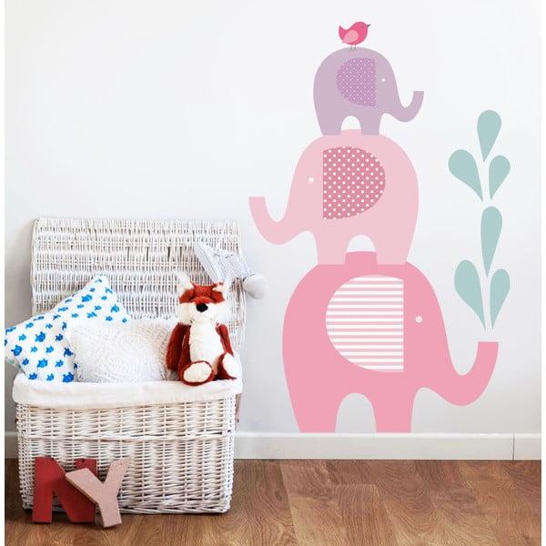 Samolepka Sloní sprcha, 90x60 cm