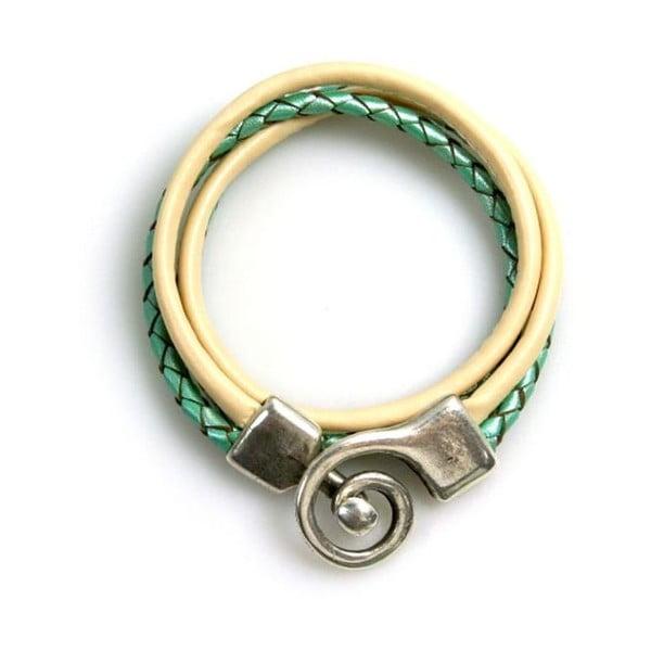 Náramek Curl, zelený