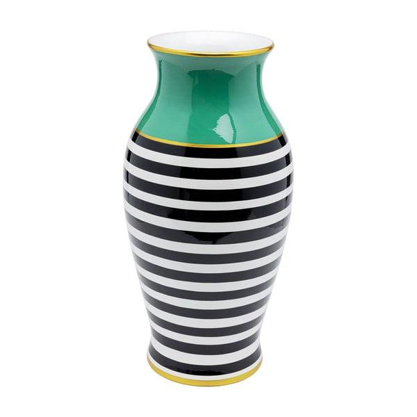 Pruhovaná váza Kare Design Stripes Horizontal, výška 52cm