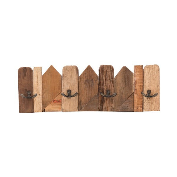 Drewniany wieszak ścienny WOOX LIVING Nordic, dł. 50 cm