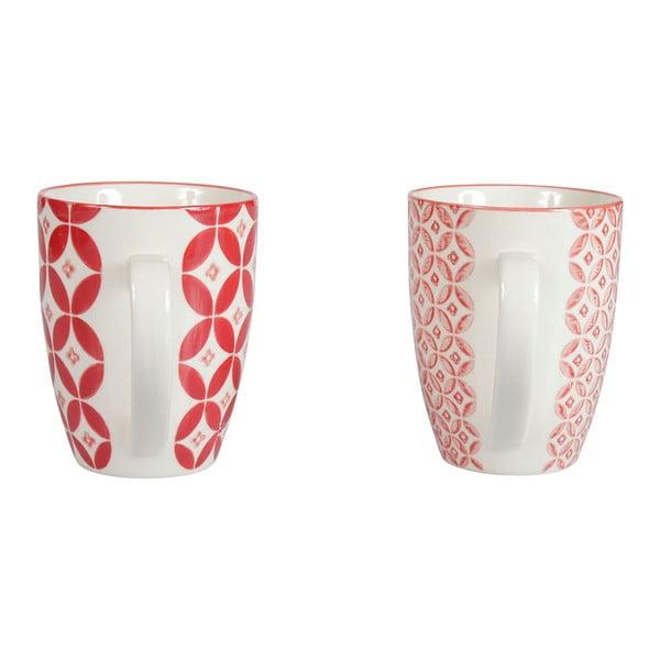 Sada 4 porcelánových hrnků Rubis