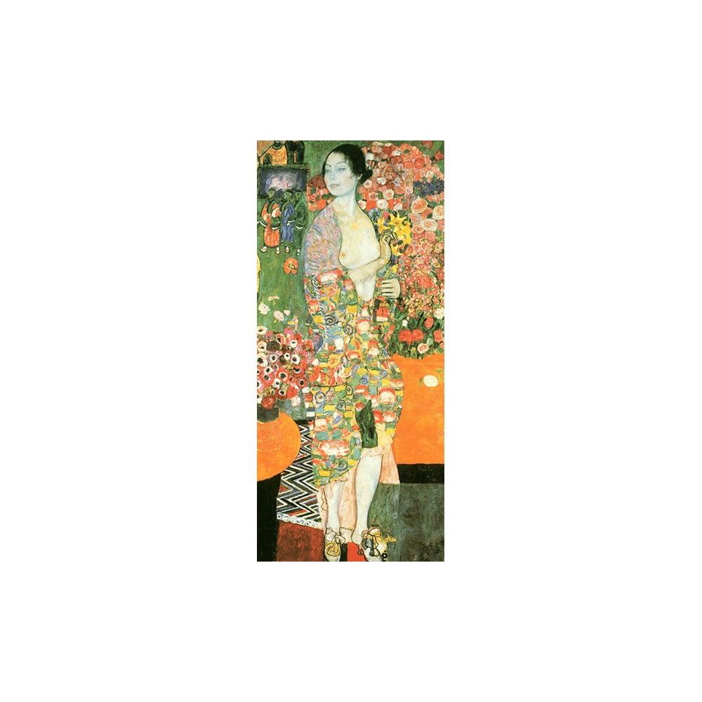 Reprodukce obrazu Gustav Klimt - The Dancer, 70 x 30 cm