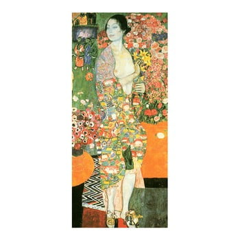 Reproducere Tablou Gustav Klimt - The Dancer, 70 X 30 Cm