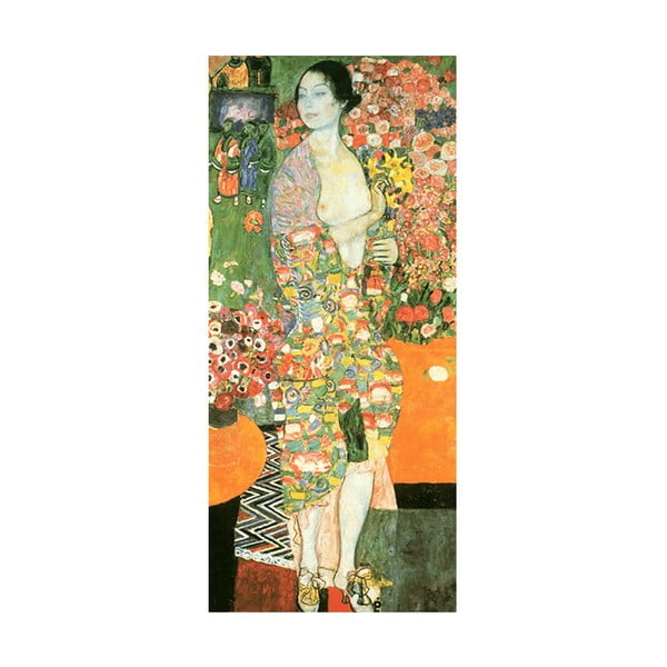 Reprodukcia obrazu Gustav Klimt - The Dancer, 70 × 30 cm