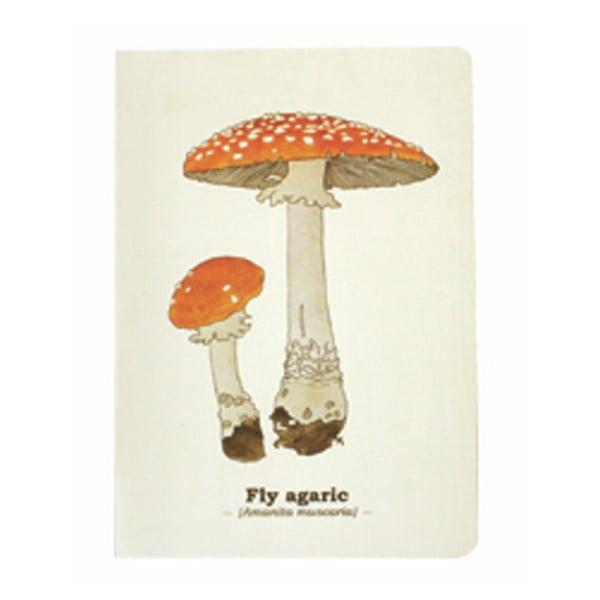 Agendă Gift Republic Toadstool Mushroom, A5