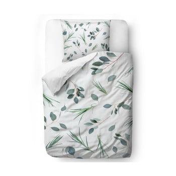 Lenjerie de pat din bumbac satinat Butter Kings Bent Grass, 200 x 200 cm