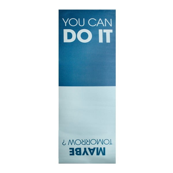 Podložka na jogu Le Studio You Can Do It Yoga Mat, 61 x 173 cm