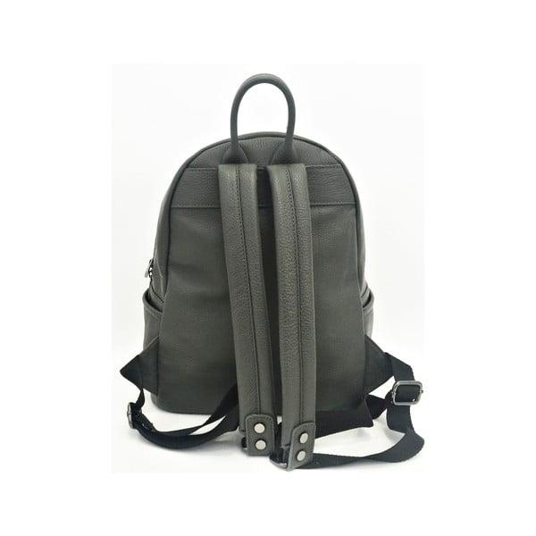 Kožený batoh Momo Grey