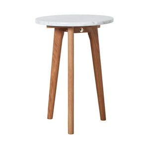 Odkládací stolek Zuiver White Stone, 32 cm
