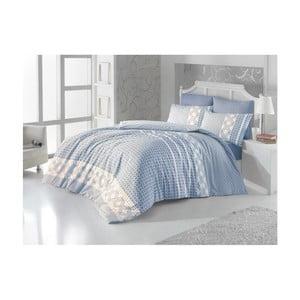 Lenjerie de pat și cearșaf Hanna, 160 x 225 cm