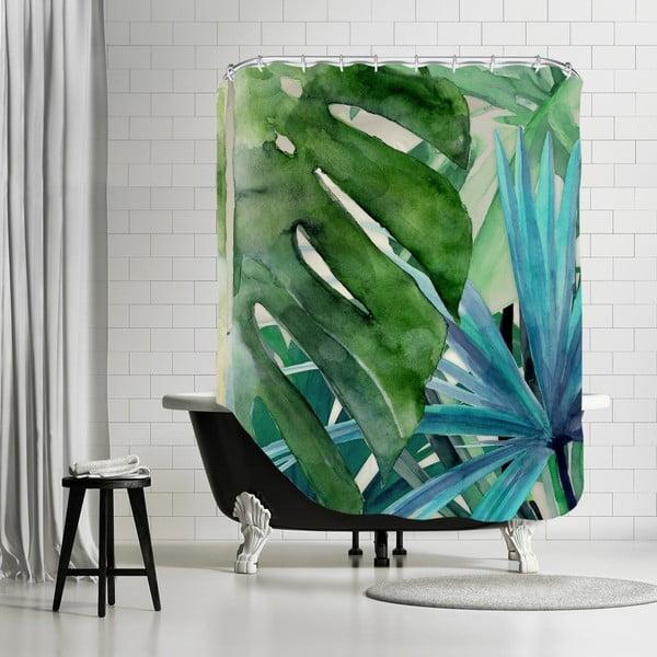 Koupelnový závěs Palm Canyon, 180x180 cm