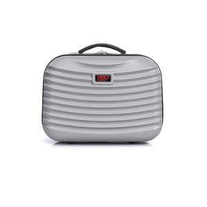 Světle šedé malé příruční zavazadlo Hero Patapios,