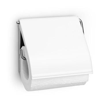 Suport pentru hârtie igienică Brabantia Spa, alb