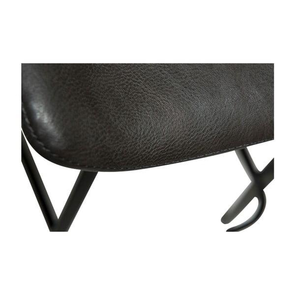 Šedá barová židle DAN-FORM Denmark Swing