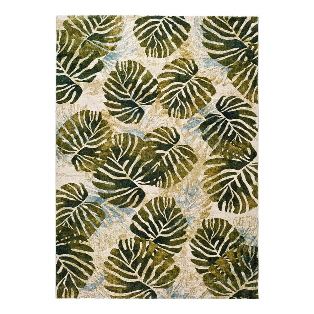 Zelený koberec Universal Tropics Multi, 120x170cm