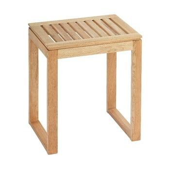 Scăunel din lemn pentru baie Wenko Norway imagine